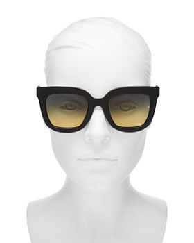 rag & bone - Women's 1002 Oversized Square Sunglasses, 52mm
