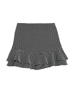 Aqua Girls Textured Ruffle Skirt Big Kid  100 Exclusive
