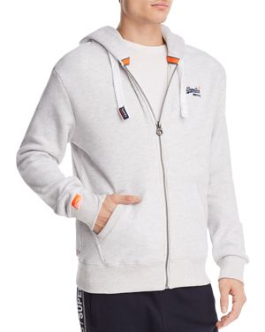 SUPERDRY MEN'S ORANGE LABEL ZIP-UP HOODIE