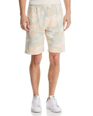 WESC Marty Camouflage Fleece Drawstring Shorts