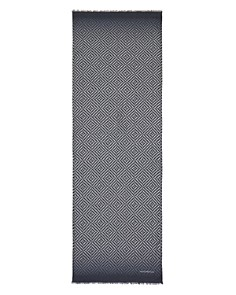 Emporio Armani Rectangle Print Scarf - Bloomingdale's_0