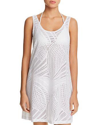 J. Valdi - Lattice Back Dress Swim Cover-Up