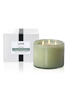 LAFCO - Fresh-Cut Gardenia 3-Wick Living Room Candle