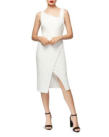 Betsey Johnson - Asymmetric Crossover Dress