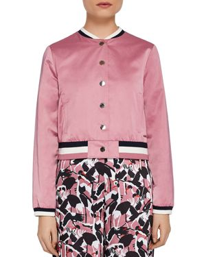 COLOUR BY NUMBERS ANNAHH BOMBER JACKET