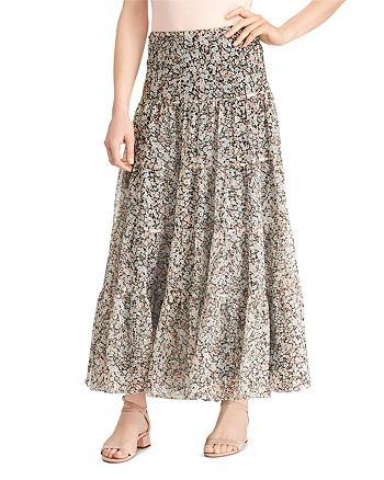 Ralph Lauren - Tiered Floral Maxi Skirt