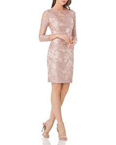JS Collections - emb lace cocktail