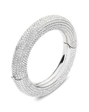ATELIER SWAROVSKI X Christopher Kane Bolster Bangle Bracelet in Silver