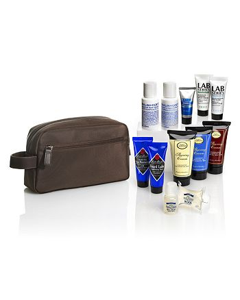Bloomingdale's - FREE  Look Sharp Travel Kit with 12 Samples - Yours with any $50 purchase from select Men's Skincare Brands! - 100% Exclusive