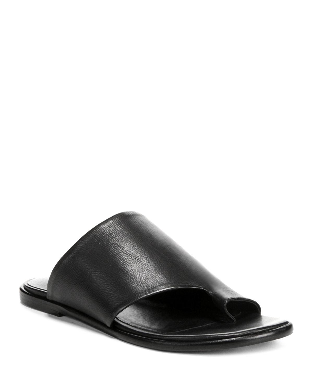 Vince Women's Edris Leather Slide Sandals