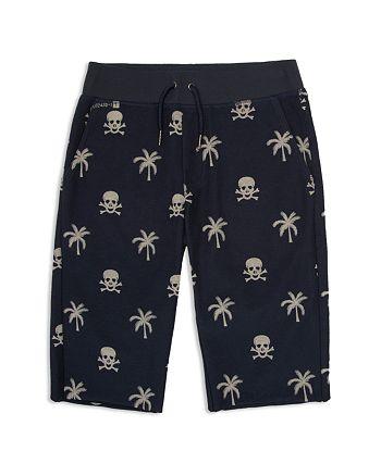 Hudson - Boys' Palm Tree & Skull Print Shorts - Little Kid, Big Kid