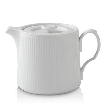 Royal Copenhagen - White Fluted Teapot