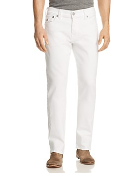 182c9f598455 True Religion - Ricky Flap Relaxed Fit Jeans in Optic Stone ...
