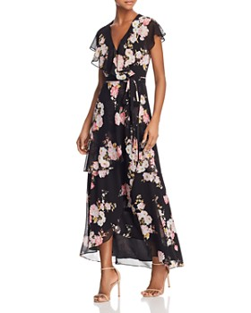 WAYF - Polermo Floral Print Maxi Wrap Dress - 100% Exclusive
