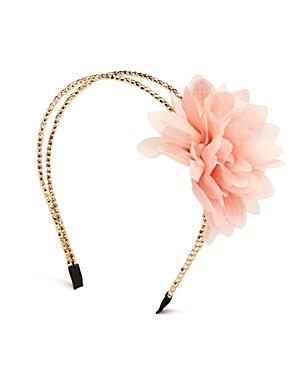Capelli Girls' Floral Beaded Headband