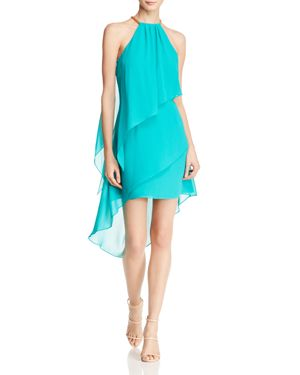 Laundry by Shelli Segal Tiered Halter Dress 2433374