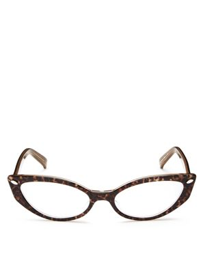 CORINNE MCCORMACK ROXANNE 52MM READING GLASSES - BROWN