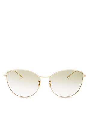 Oliver Peoples Women's Rayette Cat Eye Sunglasses, 60mm