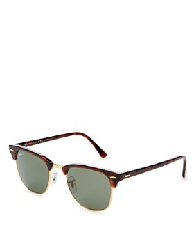 Ray-Ban - Unisex Polarized Classic Clubmaster Sunglasses, 51mm