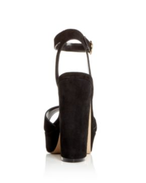 Aqua Women's Mardi Suede High-Heel Platform Sandals - 100% Exclusive lHGAM7XSFu