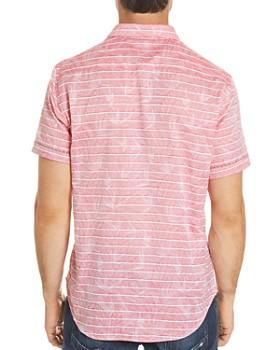 Robert Graham - Machado Leaf Stripe Button-Down Shirt