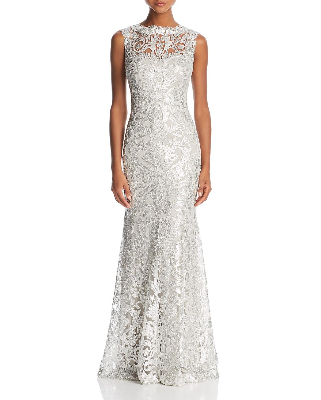 Tadashi Shoji Sleeveless Sequin Gown | Bloomingdale\'s