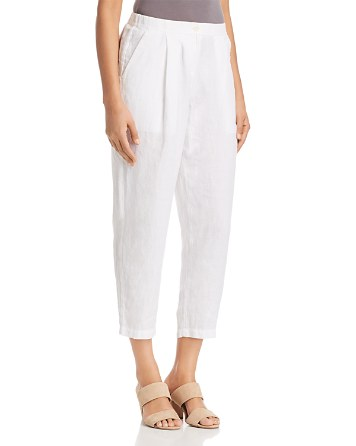 Eileen Fisher Petites Relaxed Ankle Trouser