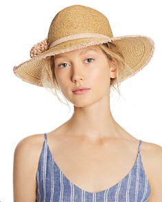 August Hat Company Pom-Pom Detail Fedora - Bloomingdale's_0