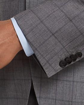 BOSS - Johnstons/Lenon Regular Fit Windowpane Suit