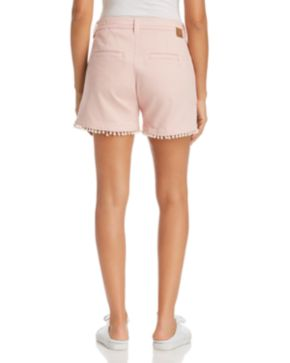 Popular Clearance Inexpensive Jag Jeans Cadet Pom-Pom-Trim Shorts Fashion Style Cheap Price d7qndj