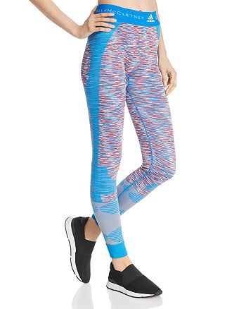 adidas by Stella McCartney - Space Dye Color Block Leggings