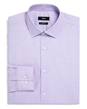 BOSS - Dobby Slim Fit Dress Shirt