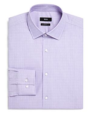 Boss Dobby Slim Fit Dress Shirt