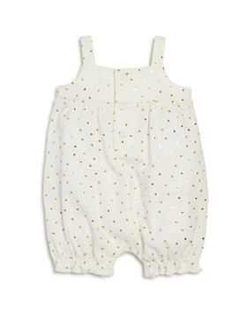 Bloomie's - Girls' Heart-Print Romper with Bow, Baby - 100% Exclusive