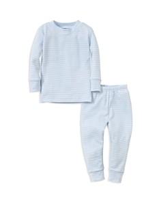 Kissy Kissy - Boys' Striped Pajama Top & Pants Set - Baby
