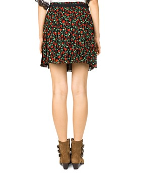 The Kooples - Rosa Rosa Floral-Print Skirt