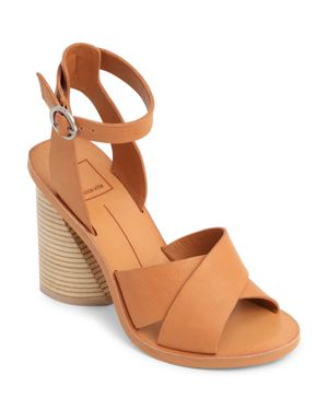 Dolce Vita Women's Athena Leather Ankle Strap Sandals 1987416