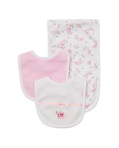 Little Me Girls' Rose Bibs & Burp Cloth Set - Baby - Bloomingdale's_0