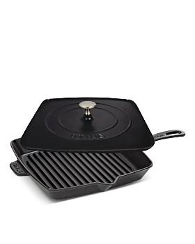 "Staub - 12"" Square Grill Pan & Press Set"