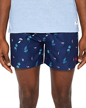 Ted Baker - Gusty Print Swim Shorts