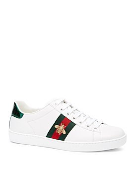 Gucci - Women's Gucci Ace Embroidered Sneakers