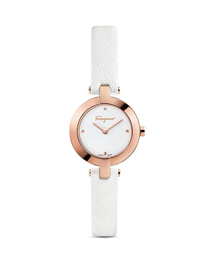 f352af79e17d6 Salvatore Ferragamo Miniature Watch, 26mm | Bloomingdale's