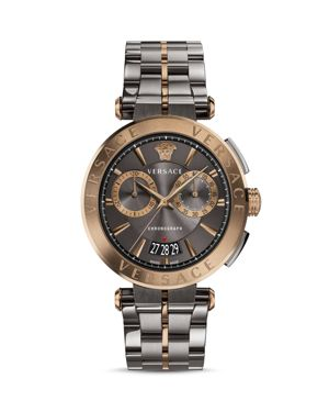 Versace Aion Two-Tone Chronograph, 45mm