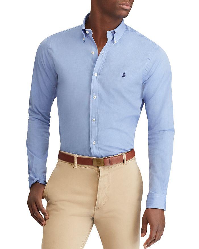 3db00893 Polo Ralph Lauren Slim Fit Button-Down Shirt   Bloomingdale's