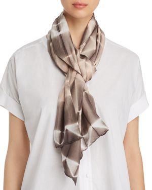 Eileen Fisher Tie-Dye Silk Scarf 2860000