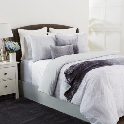 "Dip-Dye Silk Velvet Decorative Pillow, 20"" x 20"""
