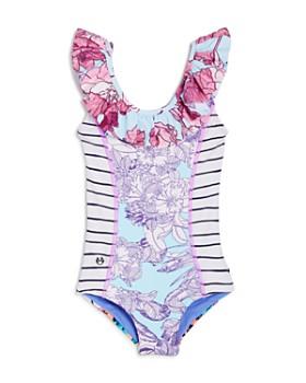 Maaji - Girls' Heavenly Frills Swimsuit - Little Kid, Big Kid