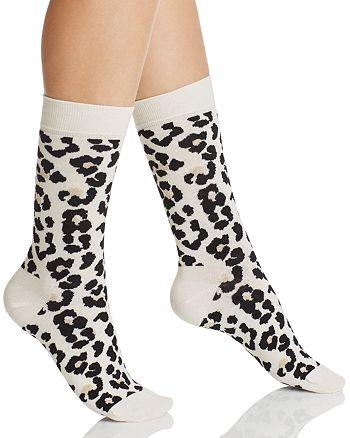 Happy Socks - Leopard Crew Socks