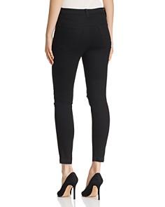 J Brand -  Alana High Rise Crop Skinny Jeans in Deviant Vanity