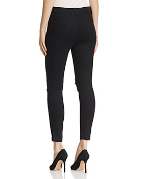 J Brand -  Alana High Rise Crop Skinny Jeans in Deviant Vanity